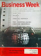 1969 Businessweek Magazine: Print-out Device-Symbol of a New Service Business