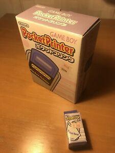 Nintendo Gameboy Pocket Printer Japan Japanese NTSC Jap New Unused