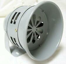 "5"" Gray Vintage Compact Automotive Air Raid Siren Horn Alarm Car Truck 12 Volt"