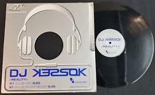 CB) DJ Kessok - Reality - Club Mix - Pulsdriver -  Germany - Vinyl Music Record