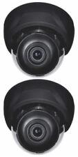 2 Sony Effio Dome Cameras D WDR 700TVL OSD button 2.8-12mm auto iris lens Brown