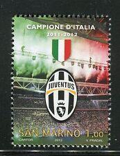 SAN MARINO 2012 JUVENTUS CAMPIONE/TEAM ITALIAN FOOTBALL CHAMPIONSHIP/SOCCER/