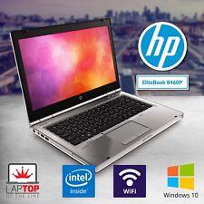 HP Laptop Computer Intel Core i7 4GB RAM 500GB Windows 10 Pro DVD WiFi HD Webcam