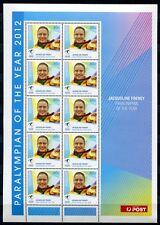 Australien Australia 2012 Olympiade Paralympics Goldmedaille Kleinbogen MNH