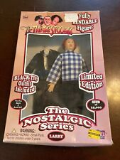 NIB Three 3 Stooges Nostalgic Series Larry Bendable Doll LIMITED EDITION Blk Tie