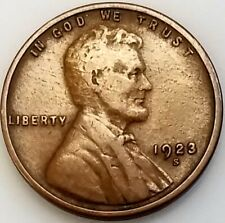1923 S Lincoln Cent! Add this coin to your collection!