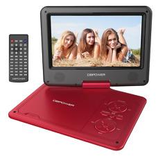 9.5'' Tragbarer DVD-Player, 5 Stunden Akku, schwenkbaren Bildschirm, unterst&#xF
