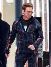 Avengers Infinity War Iron Man Tony Stark Camouflage Men Hoodie Jacket