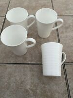 Mikasa Swirl Set Of 4 Mugs. Excellent Condition
