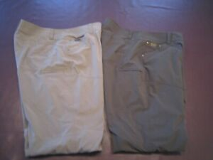 2 Pair Kuhl Men's Silencer Pants - Multi Pockets Excellent Cond.36 x 32