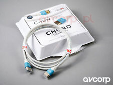 Original Chord C-view ultra-slim High Speed 1.4 HDMI cable with Ethernet - 0.75m