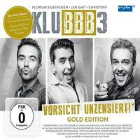 KLUBBB3 - VORSICHT UNZENSIERT! (GOLD EDITION)   CD+DVD NEU