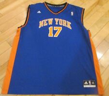 Adult Mens XXL 2XL ADIDAS New York Knicks #17 Jeremy Lin Basketball Jersey 2012