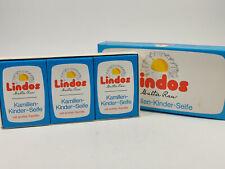 Lindos Walter Rau GmbH Kamillen Kinder Seife, Soap, 3 x 100g NEU/OVP unbenutzt