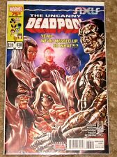 MARVEL #38 UNCANNY DEADPOOL SIXIS HIGH GRADE FREE BAGGED AND BOARDED