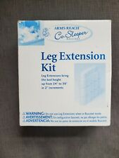Arms Reach | Co-Sleeper Bassinet Leg Extension Kit | 9861-L Toffee
