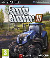 Farming Simulator 15 2015 PS3 (Sony PlayStation 3, 2015) - 1st Class Delivery