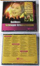 GOLDENE SCHLAGER-ERINNERUNGEN Damen des deutschen Chansons. Readers 3-CD-Box OVP