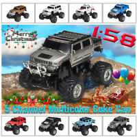 1:58 Hummer SUV RC Radio Remote Control PVC Vehicle Car Collection Model Toys