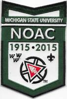 Boy Scout NOAC 2015 Michigan State University OA Centennial Patch