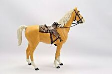 1965 Marx Best Of The West THUNDERBOLT Horse with Saddle, Bags. Blanket & Bridle