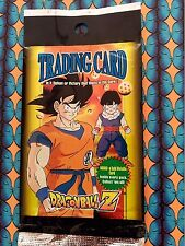 DRAGON BALL Z SOBRE ENVELOPE EMPTY BOOSTER VACIO TRADING CARD ARTBOX