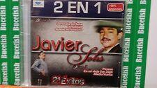 Javier Solis 2 EN 1 Contiene 21 Exitos CD NEW SEALED