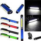 COB CREE Pen Pocket Aluminum LED Torch Lamp Light Magnetic Inspection Work Lamp