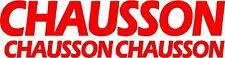 3 X CHAUSSON CARAVAN/CAMPING-CAR STICKERS AUTOCOLLANTS COULEURS AU CHOIX