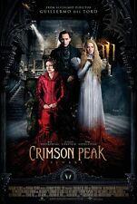 "Crimson Peak movie poster (style f)  11"" x 17""  Tom Hiddleston, Jessica Chastain"