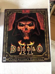 Diablo II 2 Collector's Edition (PC Windows, 2000) Missing Cd And Dice Incomplet