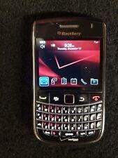 Blackberry Bold 9650 Black Verizon 1GB Micro SD  Wiped and Ready to Go