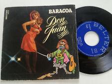 "BARACOA Don Juan SPAIN 7"" VINYL 1977 Sexy Cover"