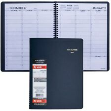 2022 At A Glance 70 950 20 Weekly Appointment Book Navy Cover 8 14 X 10 78