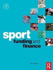 Sport Funding and Finance (Sport Management Series), Stewart, Bob, Very Good Boo
