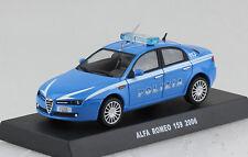Alfa Romeo 159 Polizia Polizei 2006 1:43  Modellauto