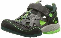 JambuKD Squamata Boy's Outdoor Fisherman Sandal (Toddler/Little, Grey, Size 3.0