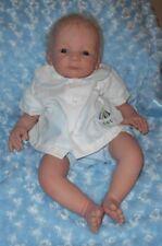 Alexis Infant Boys Size: Newborn~Two Piece White Top & Blue Bottoms~ NWT
