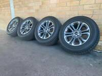 2019 MITSUBISHI TRITON 18 INCH WHEELS AND TYRES EAR NEW CONDITION GM