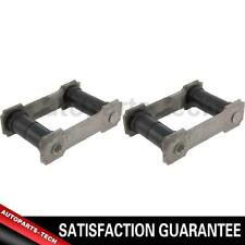 2x Centric Parts Front Rearward Leaf Spring Shackle For Ford 1961~1967