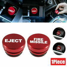 Universal Fire Missile Eject Button Car Cigarette Lighter Cover Accessories 12V