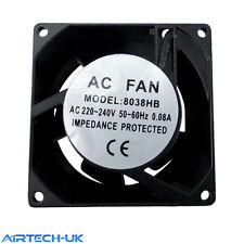 Axial Oven Fridge Freezer Cooling Fan Motor 80x80x25 mm Catreing Refrigeration