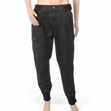 b99a5c02de5 Dolce & Gabbana Trousers Grey Cotton Cargo Wool Waist Size 48 BZ 409