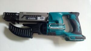 Makita DFR550 auto feed screw gun, drywall screw driver 18v lxt