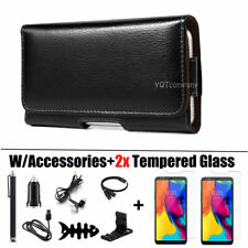 For Lg Stylo 5/Stylo 4/Stylo 3/2 Plus Leather Belt Loop Case Pouch Holster Cover