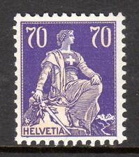 Switzerland - 1921 Definitive Helvetia -  Mi. 171z (Grilled) MH
