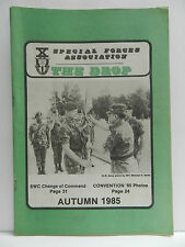 """""""GREEN BERET"""" THE DROP MAGAZINE, WINTER 1985 ISSUE, SPECIAL FORCES ASSOCIATION"""