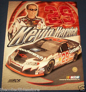 KEVIN HARVICK GM GOODWRENCH RCR CHEVY NASCAR WINSTON CUP SERIES 16 X 20 PHOTO