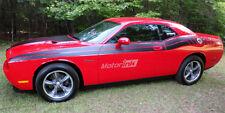 2008-2010 Dodge Challenger Side Dual  Strobe Stripes  Decals Kit Body line hemi