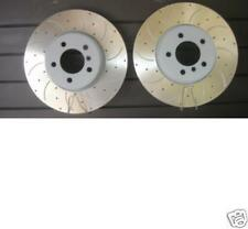 RANGE ROVER SPORT 3.6TDV8 BRAKE DISCS  CROSS DRILLED GROOVED BRAKE DISC